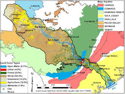 Colorado River Map by Land Environment And Atmospheric Dynamics Jackson Of