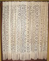 Antique Lace Curtains Vintage Lace Curtain Panels Stephanegalland