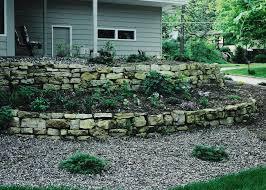 Garden Rock Wall landscaping rock walls rolitz