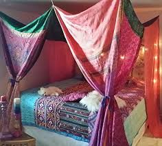 Boho Bed Canopy Boho Bed Canopy Dreaming In Pinks Patchwork