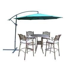 6 Piece Patio Set by Oak Heights 7 Piece Patio Dining Set With Cashew Cushions 6 Person