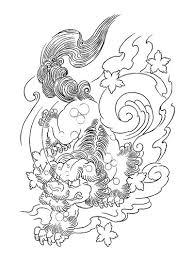 chinese foo dog inn smoke tattoo design tattooimages biz