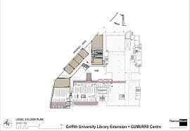 floor plan scales gallery of griffith university g11 library thomsonadsett 12