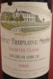 learn about chateau troplong mondot 1986 château troplong mondot bordeaux libournais st