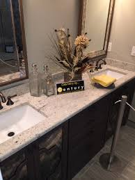 Dark Bathroom Ideas by Colonial White Granite With Dark Vanity Visit Globalgranite Com