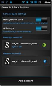 sync to android how to sync or transfer data from one android device to another