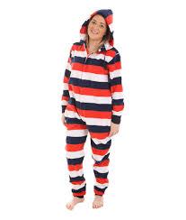 white n blue flap footed pajamas funzee