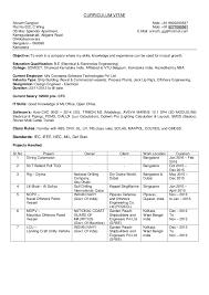 curriculum vitae layout 2013 nba cv srinath electrical engineer