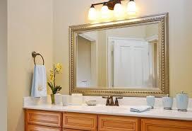 Framing Bathroom Mirrors Diy - diy bathroom mirror frame before after bathroom decor ideas