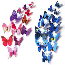 Home Decoration Wall Stickers by Elife 3d Pvc Colorful Butterfly Home Decor Wall Sticker Decal