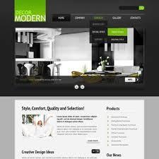 Home decor website templates Best home interior design websites