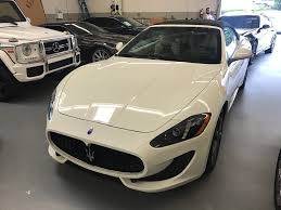 convertible maserati for sale 2016 maserati granturismo sport convertible for sale in los
