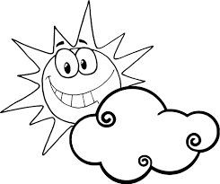 sun happyface coloring pages happy face sun coloring page