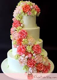 wedding cake images roses hydrangeas wedding cake wedding cakes