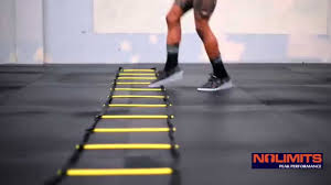 Rope Floor L Footwork With Ladder And Jump Rope Drill