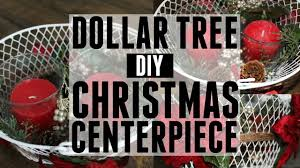 a very merry dollar tree challenge diy christmas centerpiece