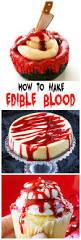 how to make edible blood recipe donuts halloween parties and