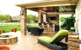 outdoor fireplace under covered patio stone pro inc outdoor