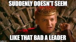 Joffrey Meme - image tagged in king joffrey imgflip
