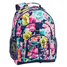 Free Shipping Pottery Barn Pottery Barn Teen Gear Up Oversized Floral Backpack Slickdeals Net