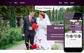 wedding web wedding a wedding planner flat bootstrap responsive web