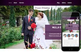 wedding planner website wedding a wedding planner flat bootstrap responsive web