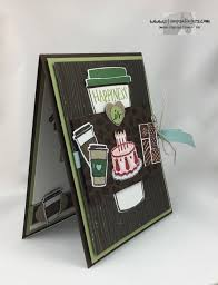 stampin u0027 up coffee cafe cake and chocolate birthday stamps
