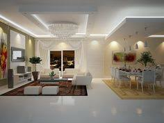 False Ceiling Design Small Apartment Room Interior Flat Screen - Apartment ceiling design