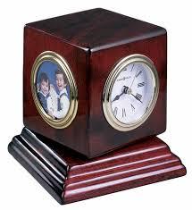 Desk Picture Frame Picture Frame Clocks The Clock Depot