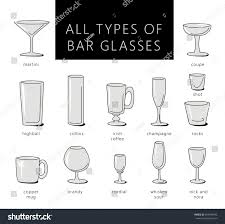 types of glasses different types of glasses by 2 cossbujue