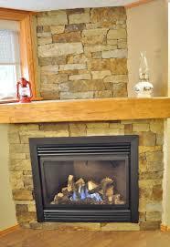 eldorado nantucket stacked stone fireplace home design ideas