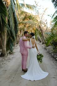 bahama wedding dress seely and gregory buntain s wedding on kamalame cay