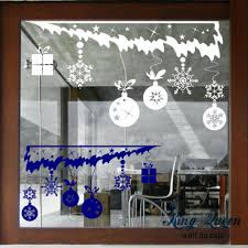 Christmas Window Cling Decorations by Window Stickers For Christmas Sticker Creations