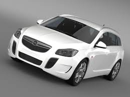 opel insignia 2017 opc 3d opel insignia opc sports tourer 2013 cgtrader