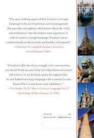 your favourite quote in french how to learn a foreign language paul pimsleur ph d