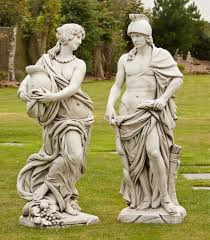 gladiator goddess sculpture large garden statue buy