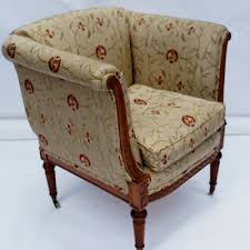 Antique Upholstered Armchairs Antique Desk Chairs And Antique Library Chairs