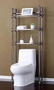 Over The Toilet Etagere Amazon Com Over The Toilet Storage Spacesaver Shelves Organizer