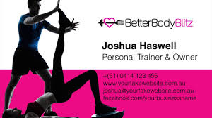 Create Business Card Free Personal Trainer Business Cards Pt Business Card Design Create