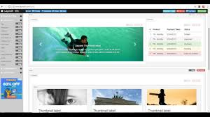 layoutit video easily design a bootstrap webpage using drag and drop with layoutit