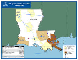 Louisiana Area Code Map by Itts Louisiana State Profile