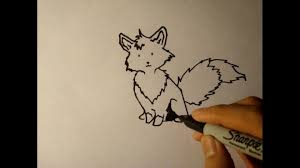 how to draw a cartoon fox step by step easy for beginners head