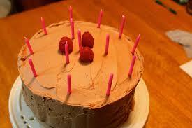 chocolate raspberry birthday cake u2013 la vida laura