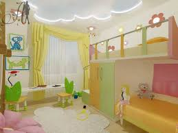 contemporary kids bedroom with mural u0026 high ceiling zillow digs