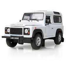 white land rover defender 90 land rover defender pre 2000 scale model 1 24 white