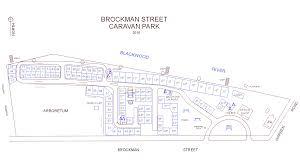 Site Map Nannup Caravan Park Main Site Map