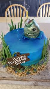 best 25 fishing birthday cakes ideas on pinterest fishing party