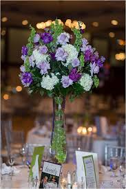 purple centerpieces awesome purple and green centerpieces for wedding wedding purple