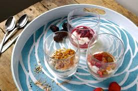 kitch naturally flavored u0026 sweetened greek yogurt 3 ways u2013 peach cobbler
