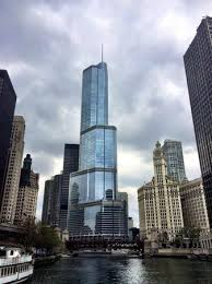 Architectural River Cruise View Of The Trump Tower From Architecture River Cruise Picture